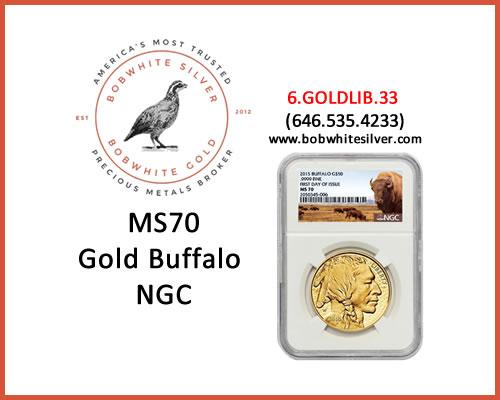MS70-GOLD-BUFFALO-NGC-BSBG